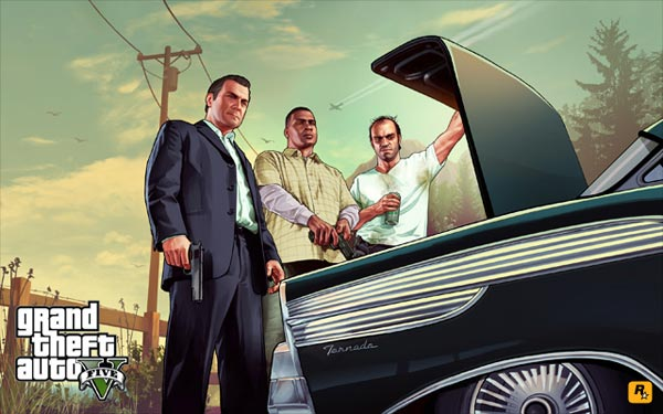 GTA 5 Rockstar pubblica altri artwork da scaricare