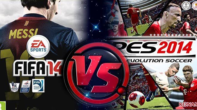 FIFA 14 VS PES 2014: 9 motivi per cui FIFA 14 e meglio