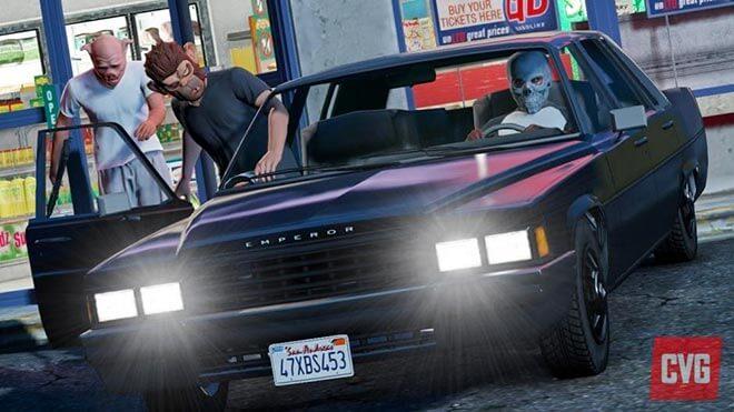 GTA 5 alcuni dettagli sull online