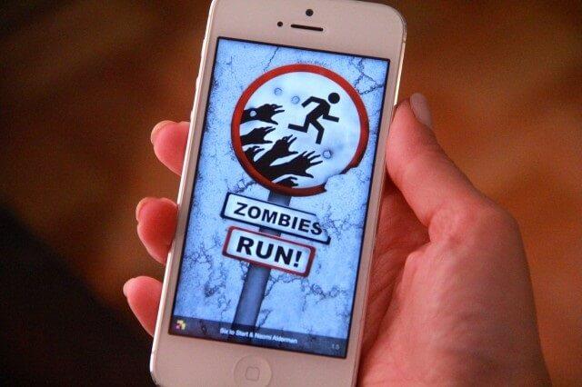 Zombies, Run! giochi realtà aumentata apple