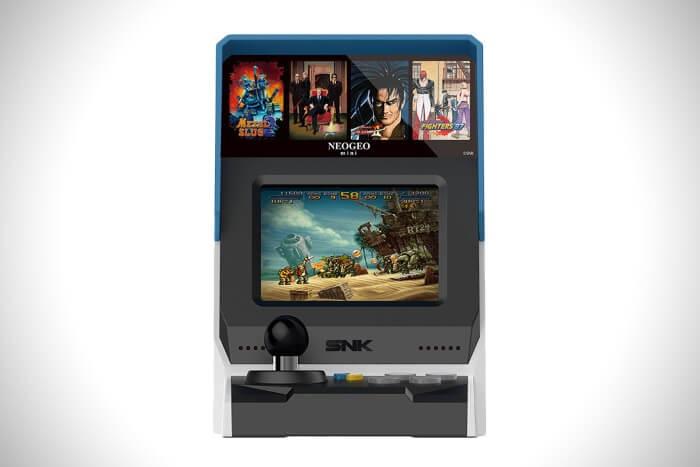 Neo geo mini in arrivo per i gamer più nostalgici