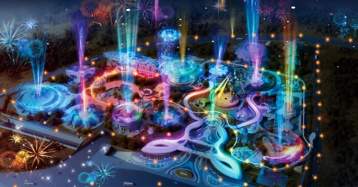 primo parco divertimento al mondo completamente in realtà virtuale