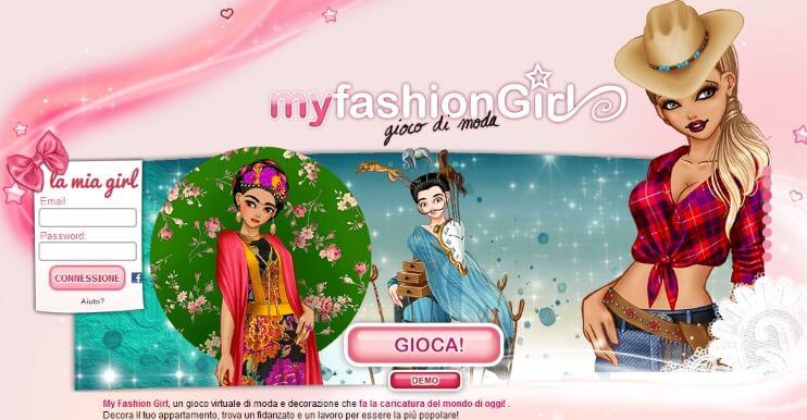 giochi moda per ragazze my fashion girl